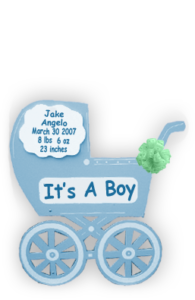 Baby Carriage – Blue